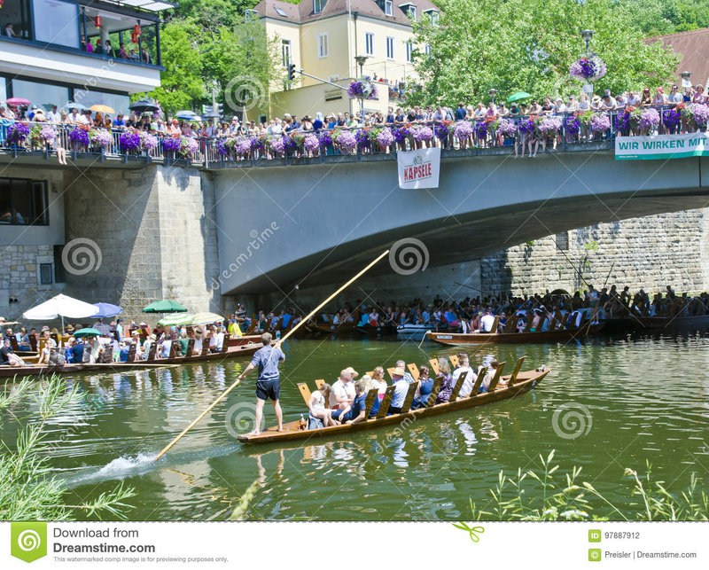 poled-boat-race-tubingen-germany-river-neckar-stocherkahnrennen-famous-event-tuebingen-97887912.jpg